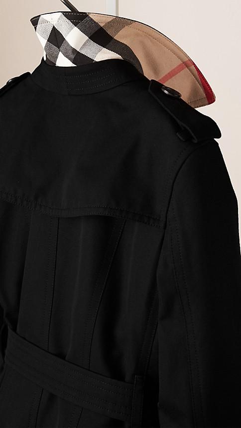 Black The Sandringham - Heritage Trench Coat - Image 3
