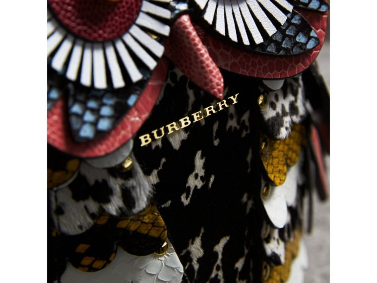 The Owl – Calf Suede and Calf Hair Crossbody Bag - Women | Burberry Canada - cell image 1