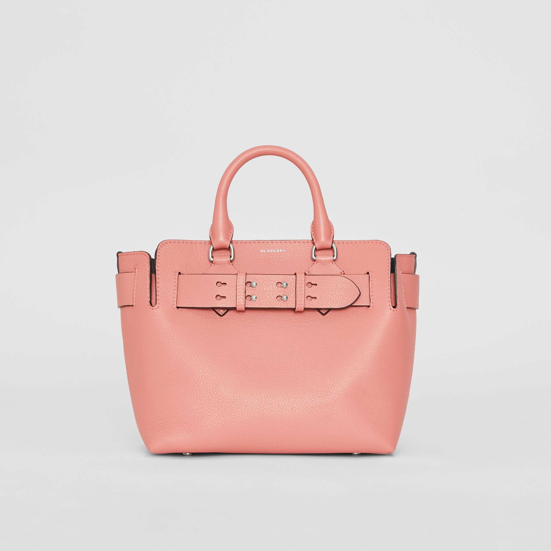 The Small Leather Belt Bag in Dusty Rose - Women | Burberry United Kingdom - gallery image 0