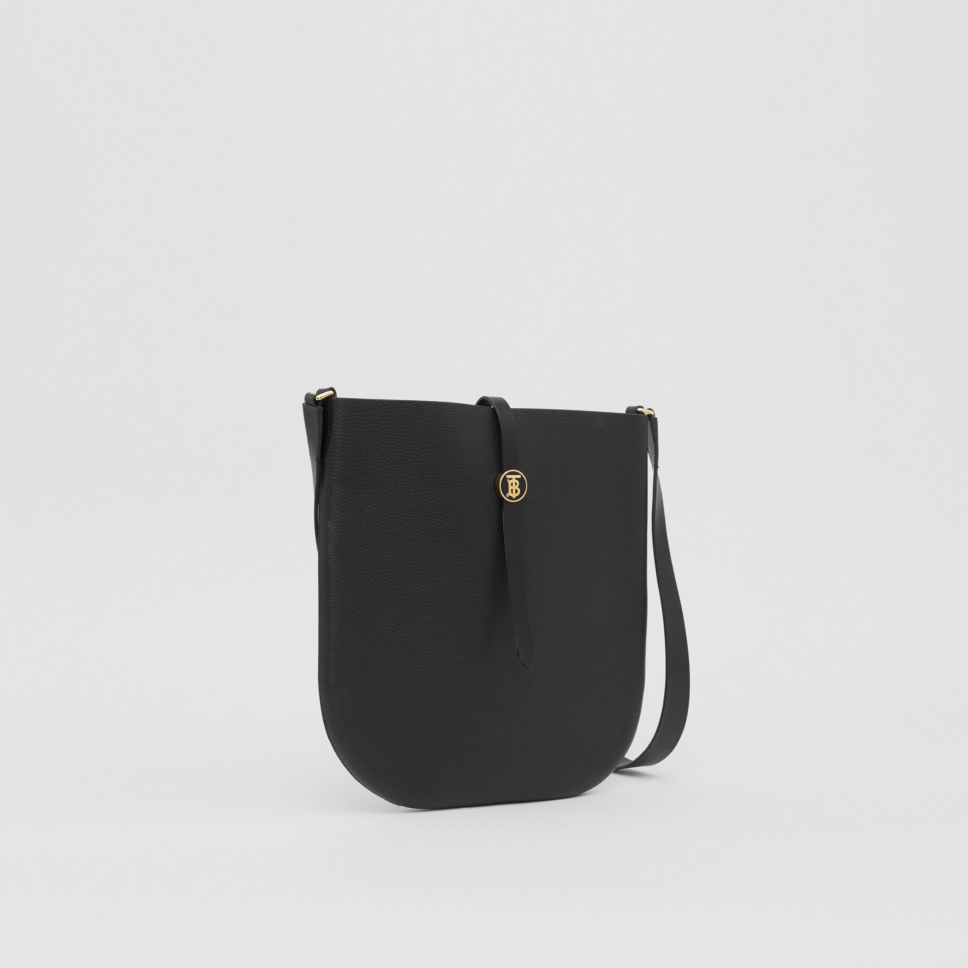 Grainy Leather Anne Bag in Black - Women   Burberry United Kingdom - gallery image 6