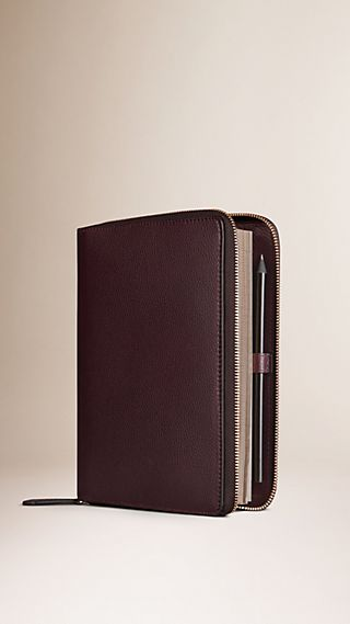 Ziparound Grainy Leather 18 Month 2015/16 A5 Diary