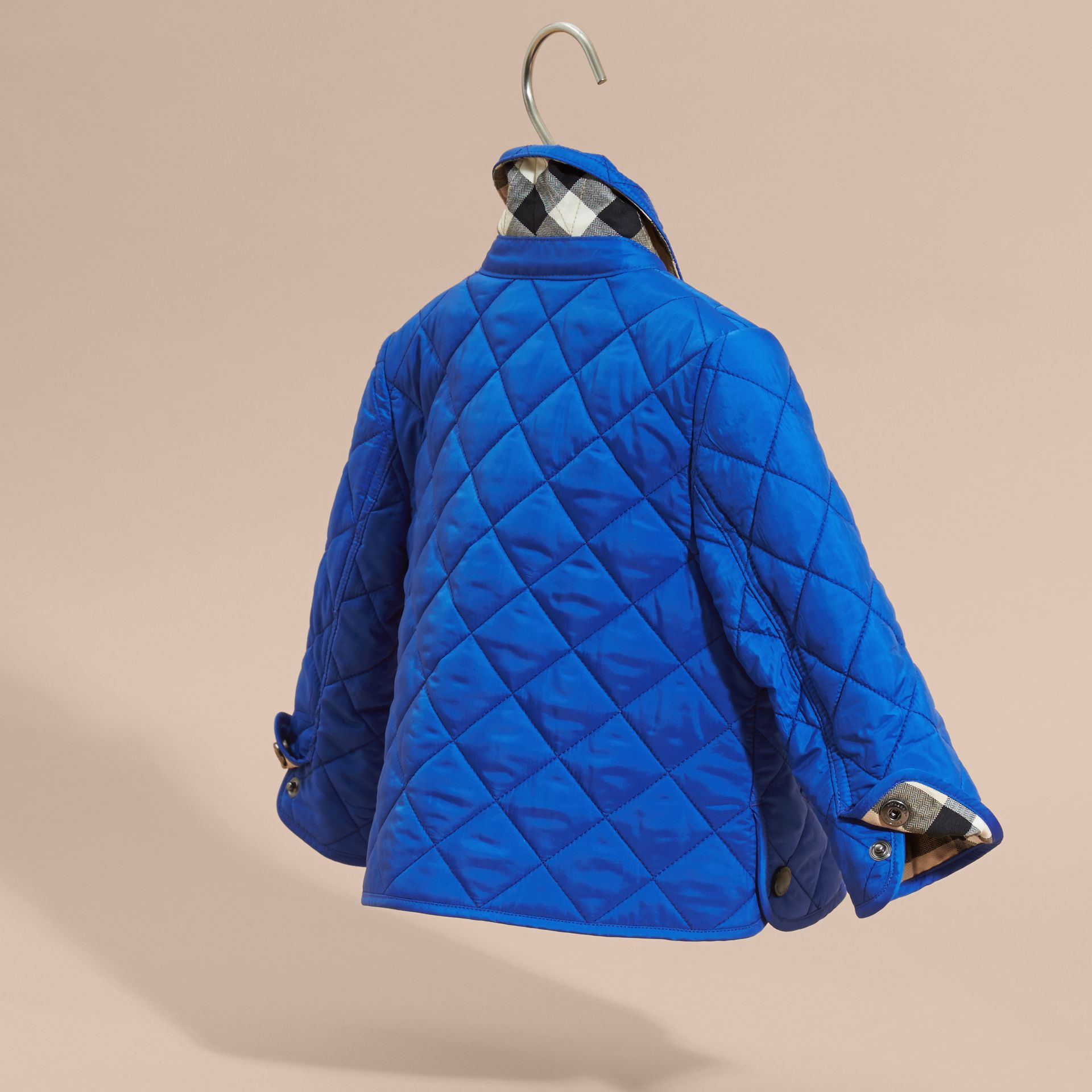 Brilliant blue Lightweight Quilted Jacket Brilliant Blue - gallery image 4
