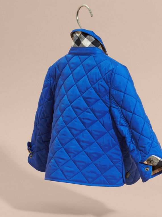 Brilliant blue Lightweight Quilted Jacket Brilliant Blue - cell image 3