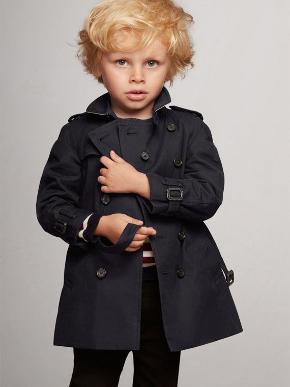 The Wiltshire - Trench coat (Azul Marinho)