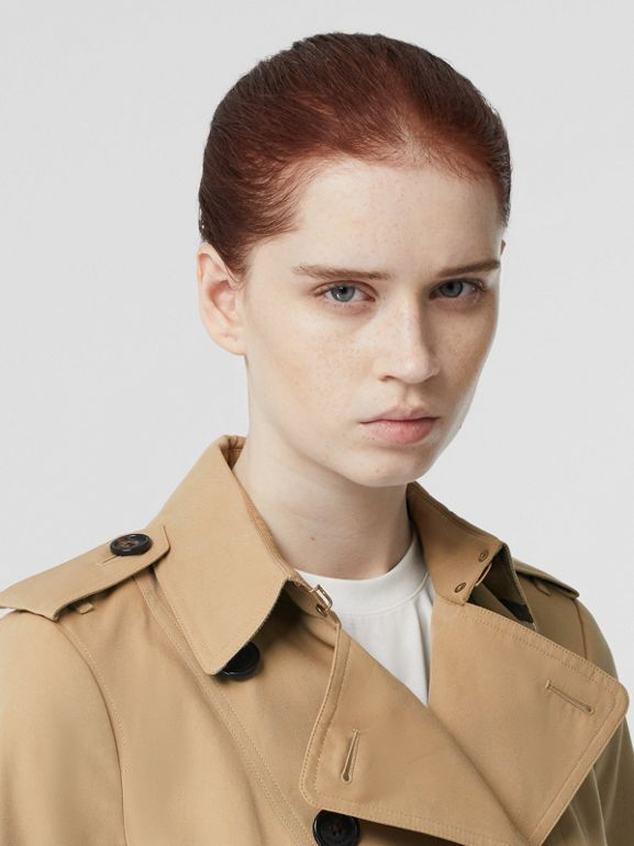 The Sandringham – Mid-length Trench Coat in Honey - Women | Burberry United States - cell image 1