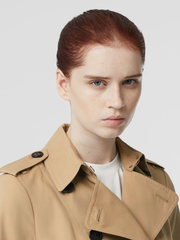 The Sandringham – Mid-length Trench Coat in Honey - Women | Burberry - cell image 2