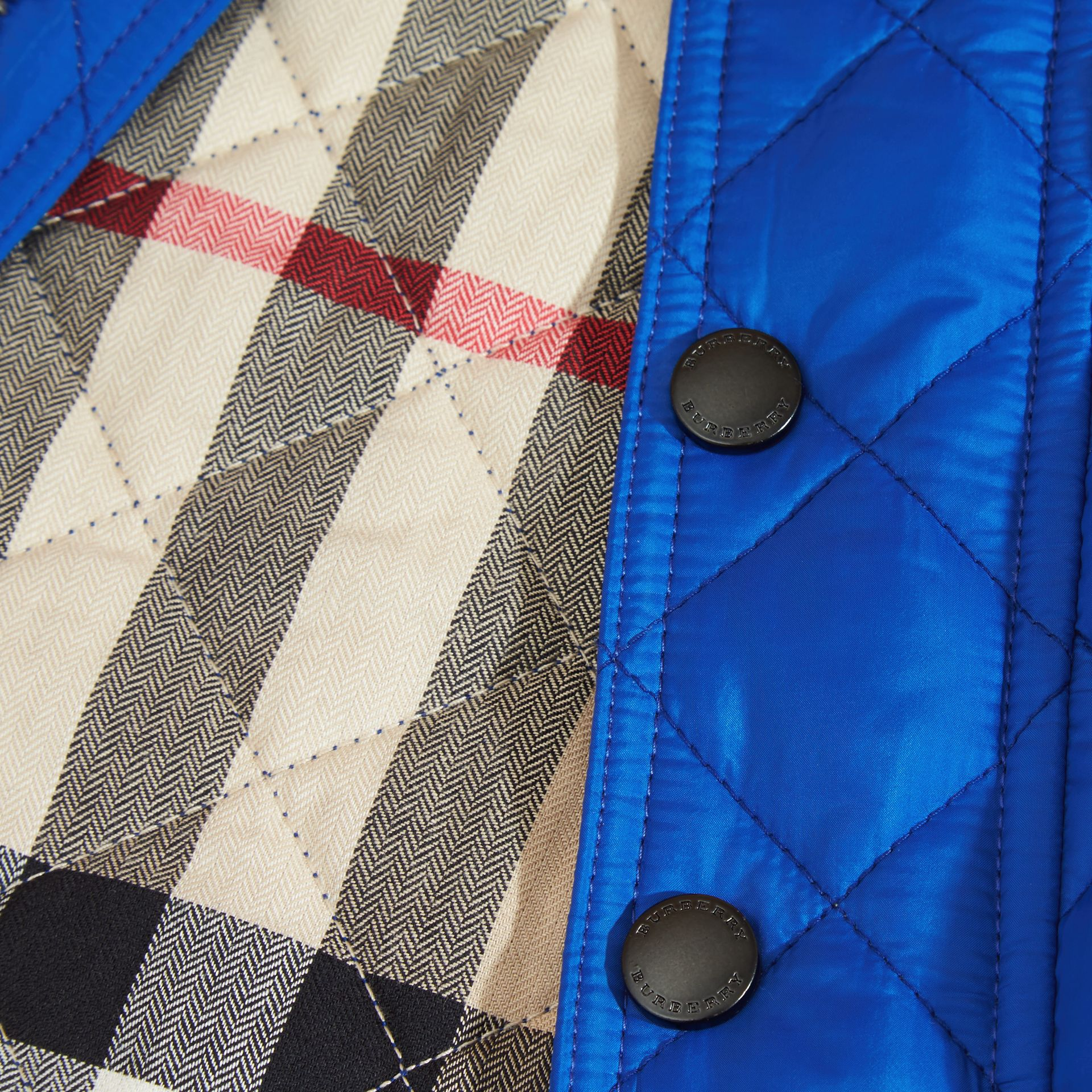 Brilliant blue Lightweight Quilted Jacket Brilliant Blue - gallery image 2