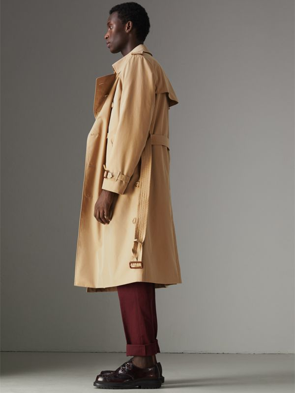 The Long Kensington Heritage Trench Coat in Honey - Men | Burberry - cell image 2