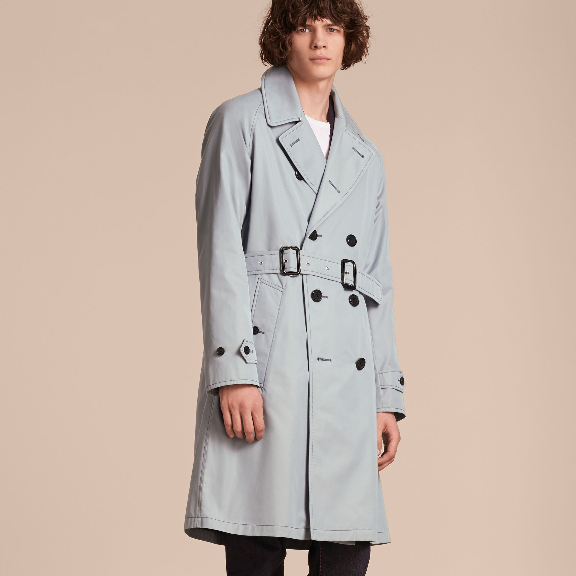 Cotton Trench Coat - gallery image 7