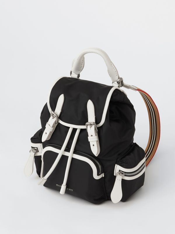 The Small Crossbody Rucksack aus Nylon (Schwarz) - Damen | Burberry - cell image 2