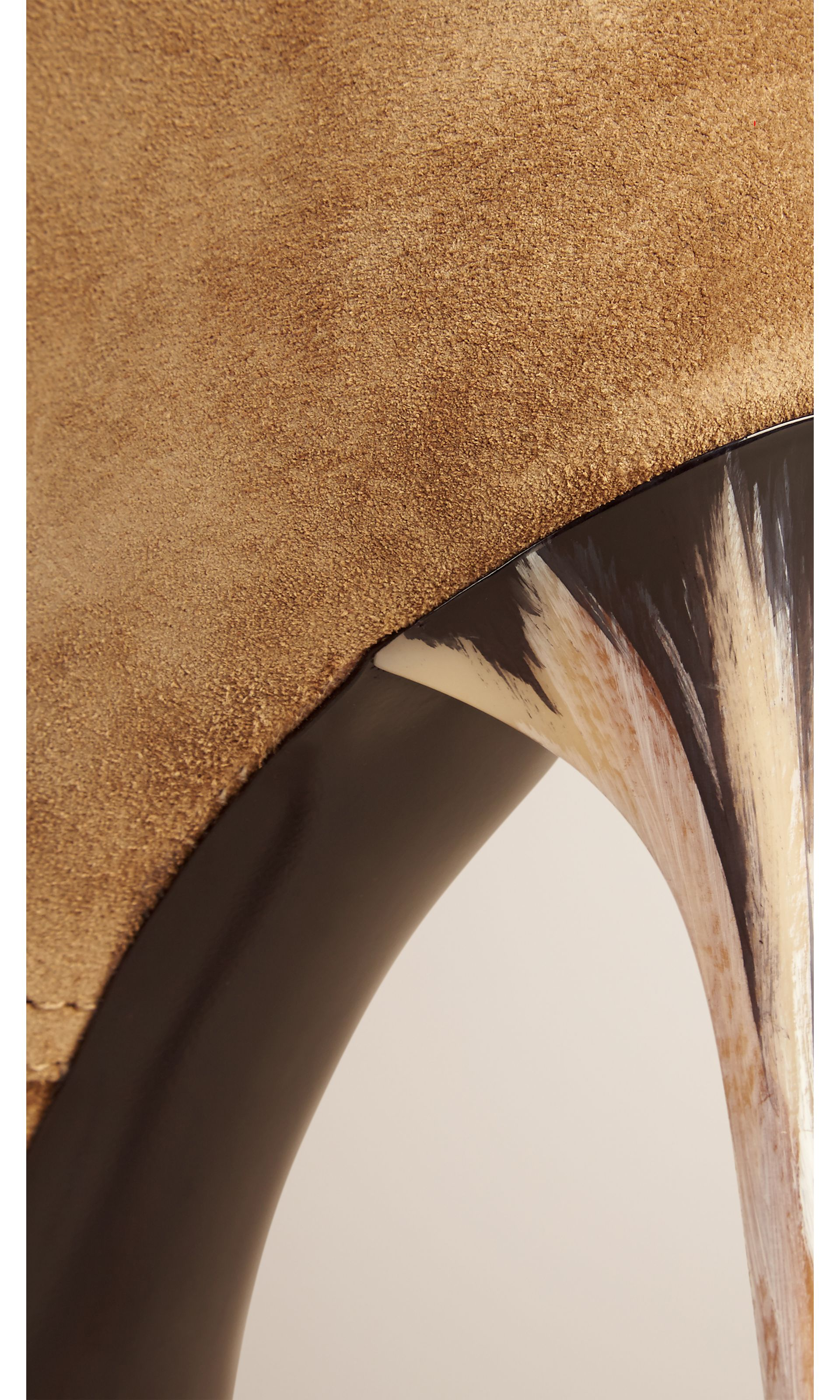 Lace-up Suede Ankle Boots in Sandstone - Women   Burberry United States - gallery image 3