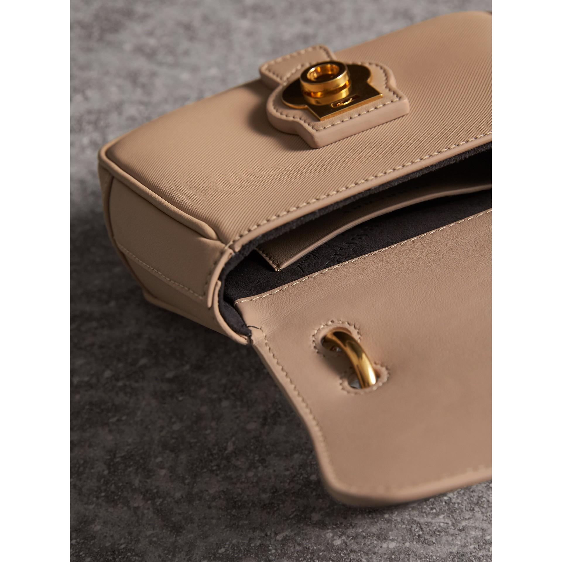 The Mini DK88 Top Handle Bag in Honey - Women | Burberry - gallery image 6
