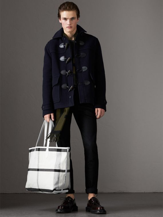 The Large Doodle Tote in wendbarem Design (Weiss) | Burberry - cell image 3