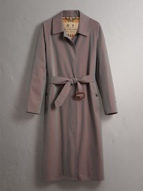 Car Coat The Brighton (Gris Lilas) - Femme | Burberry - cell image 3