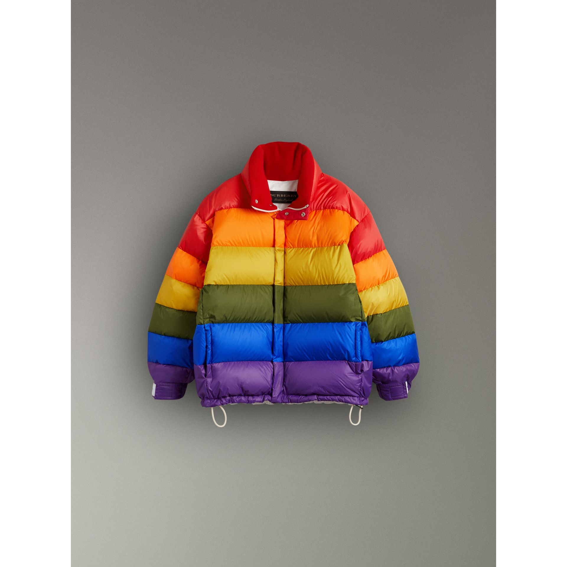 Rainbow Down-filled Puffer Jacket | Burberry - gallery image 3