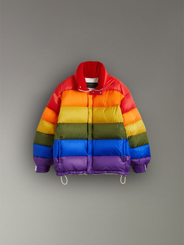 Rainbow Down-filled Puffer Jacket | Burberry United States - cell image 3