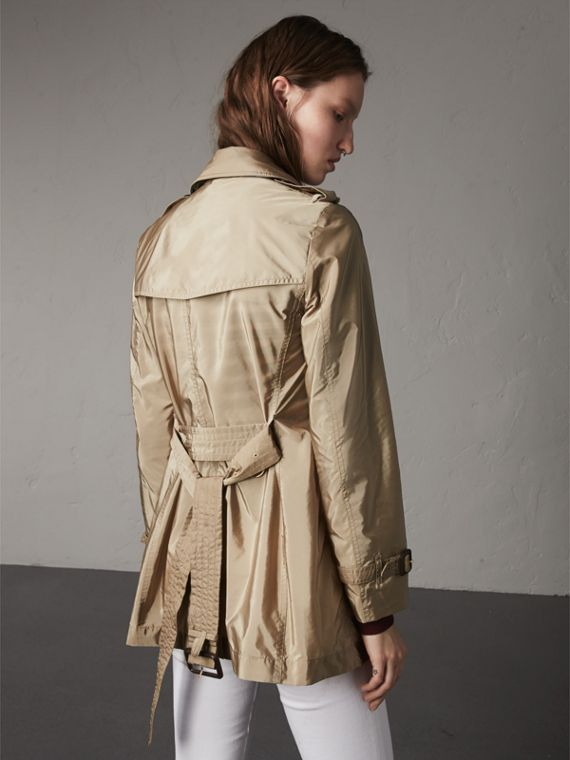 Lightweight Trench Coat in Sisal - cell image 2