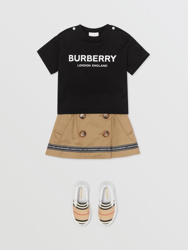 Baumwoll-T-Shirt mit Burberry-Logo (Schwarz) - Kinder | Burberry - cell image 2