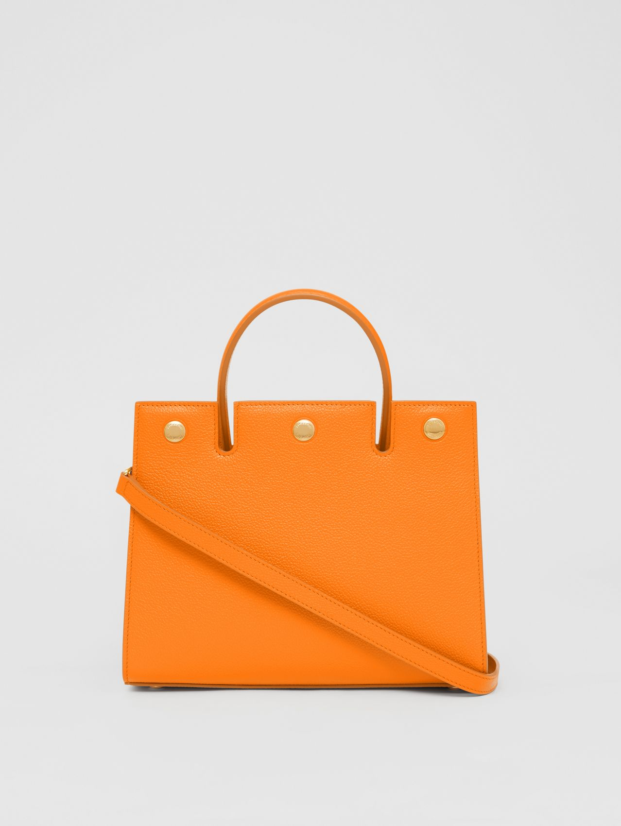 "Ledertasche ""Title"" im Miniformat (Orange)"