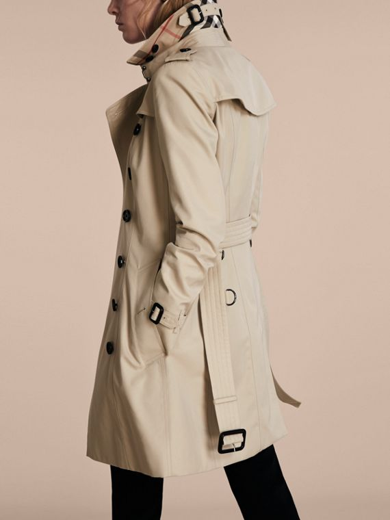 Stone The Chelsea – Mid-length Heritage Trench Coat Stone - cell image 2