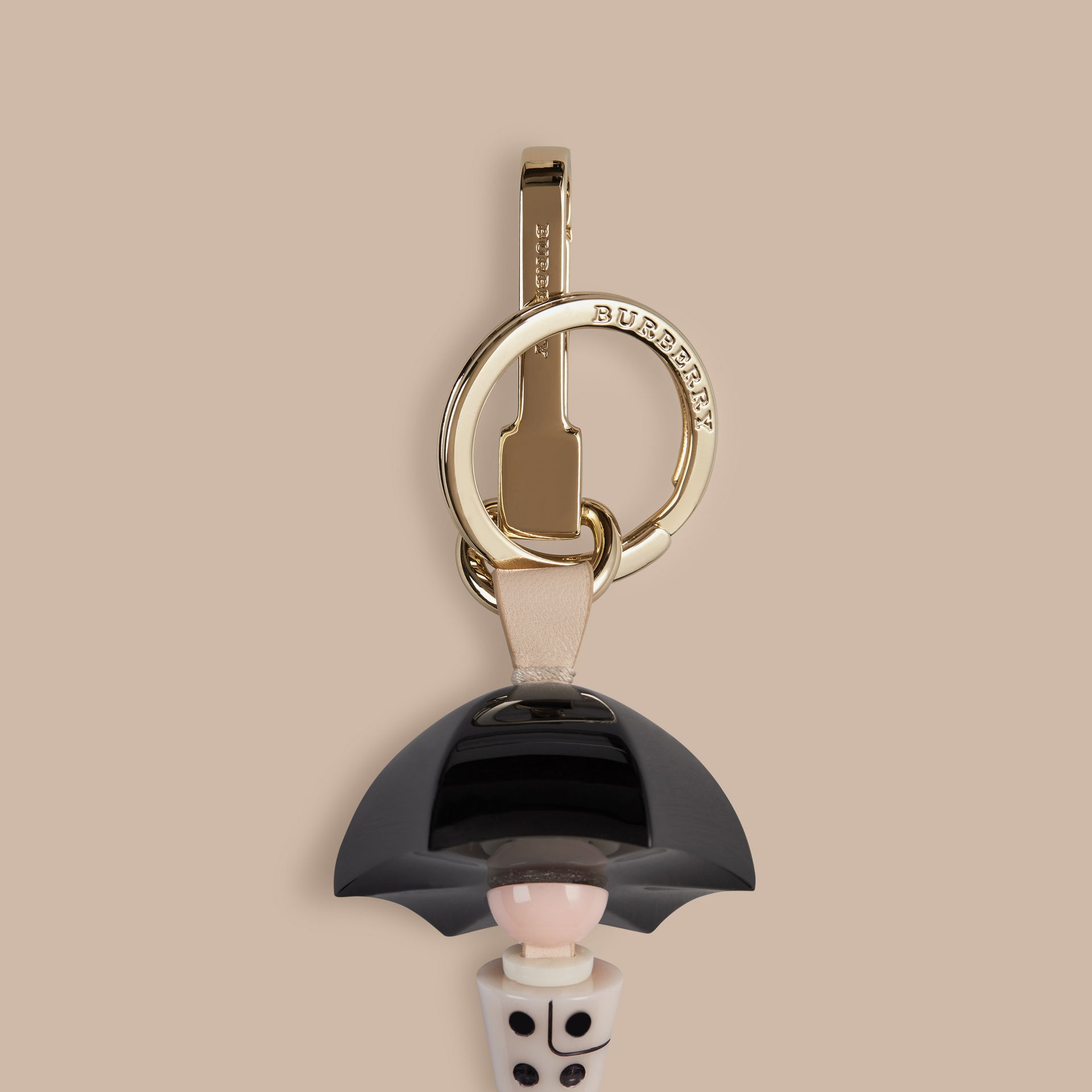 Stone The Miss Trench Key Charm - gallery image 2