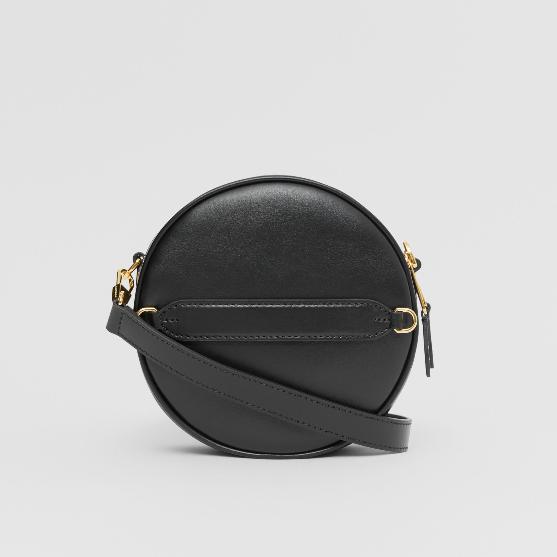 Leather Louise Bag in Black - Women | Burberry United Kingdom - gallery image 7