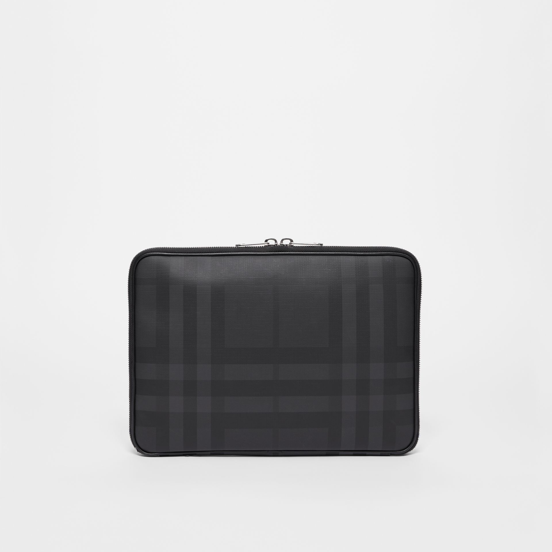 London Check Digital Case in Dark Charcoal - Men | Burberry - gallery image 5