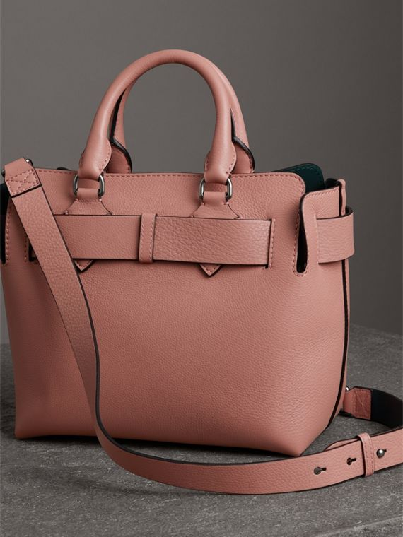 The Small Leather Belt Bag in Dusty Rose - Women | Burberry - cell image 2