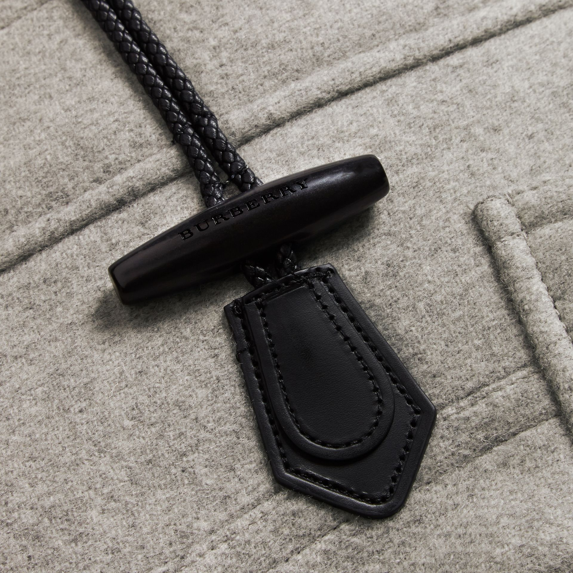 Wool Duffle Coat with Detachable Fur Trim - Women | Burberry - gallery image 3