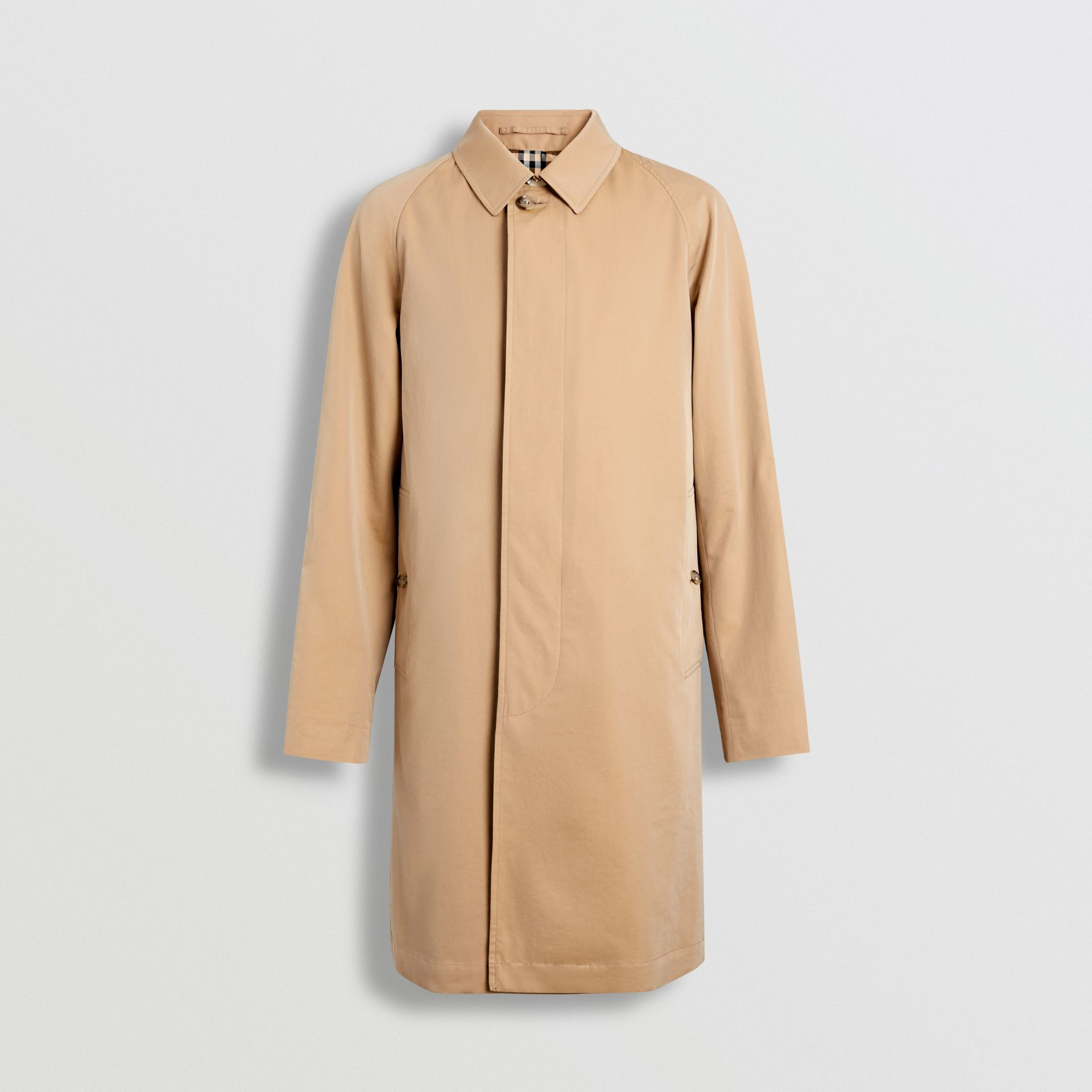 The Camden Car Coat in Honey - Men | Burberry Singapore - gallery image 3