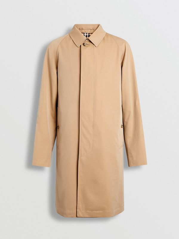 The Camden Car Coat in Honey - Men | Burberry Australia - cell image 2