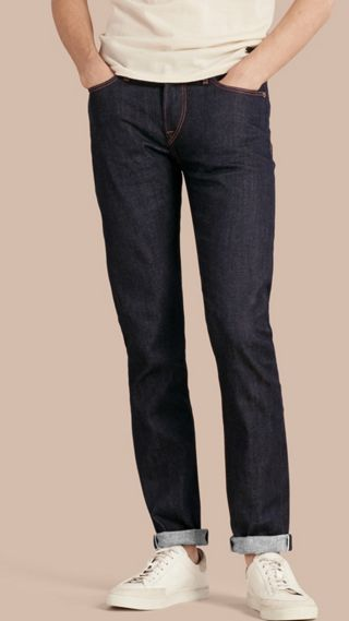 Slim Fit Stretch Japanese Selvedge Jeans