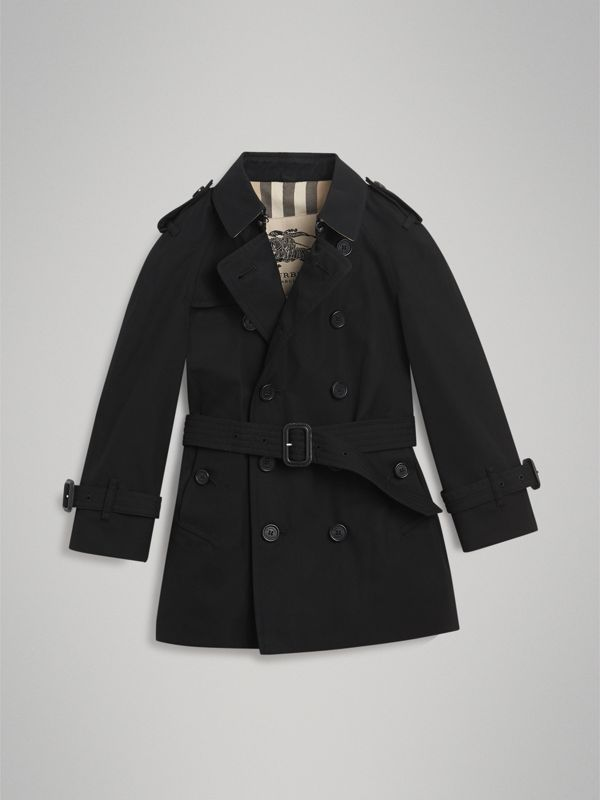 The Wiltshire Trench Coat in Black | Burberry United States - cell image 3