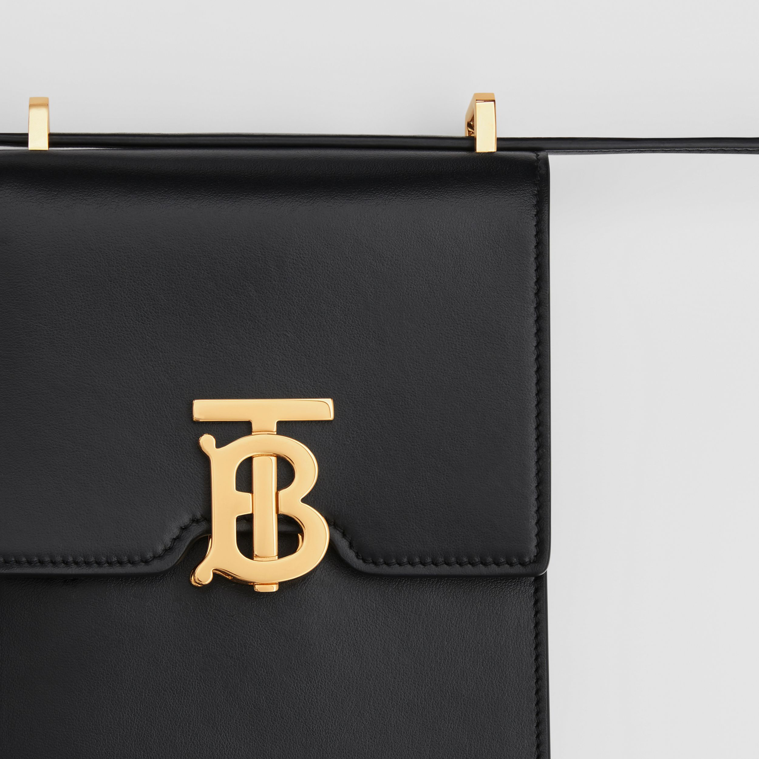 Leather Robin Bag in Black | Burberry - 2