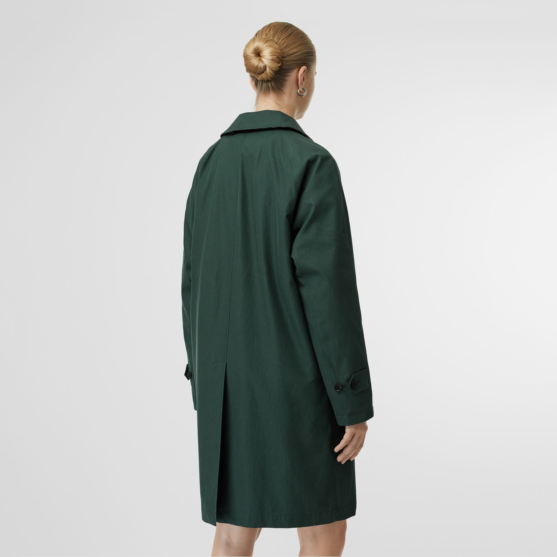 The Camden Car Coat (Smeraldo Scuro) - Donna | Burberry - immagine della galleria 2