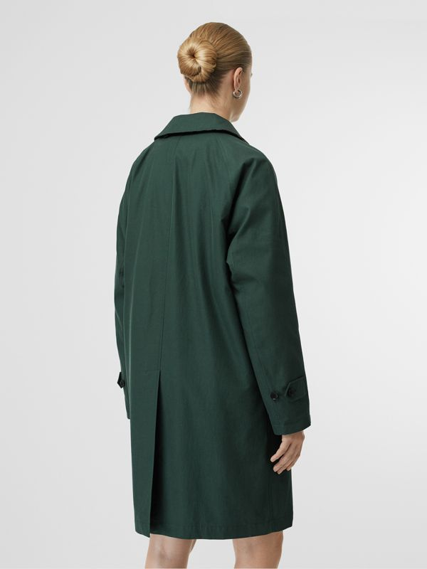 The Camden Car Coat in Dark Emerald - Women | Burberry United Kingdom - cell image 2