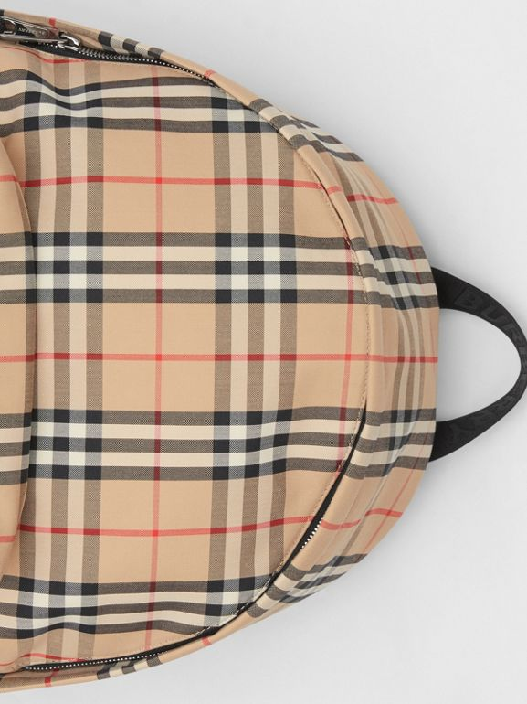 Vintage Check Nylon Backpack in Archive Beige | Burberry Australia - cell image 1