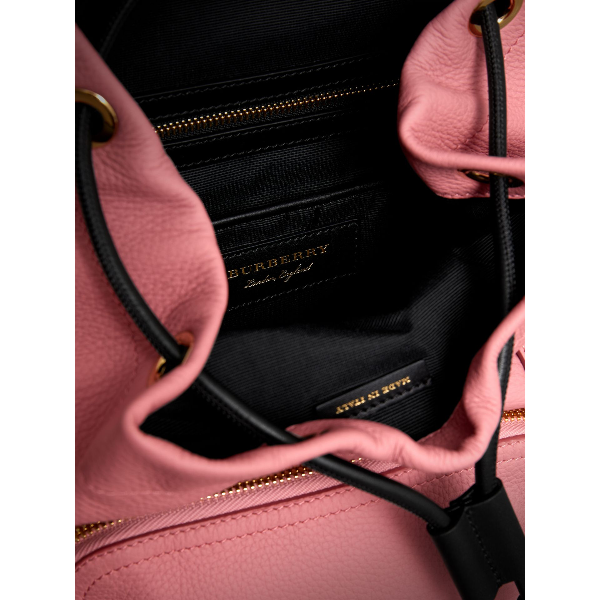 The Medium Rucksack in Deerskin with Resin Chain in Blossom Pink - Women | Burberry Australia - gallery image 4