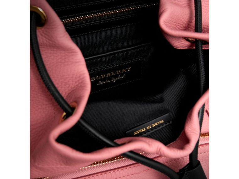 The Medium Rucksack in Deerskin with Resin Chain in Blossom Pink - Women | Burberry Australia - cell image 4
