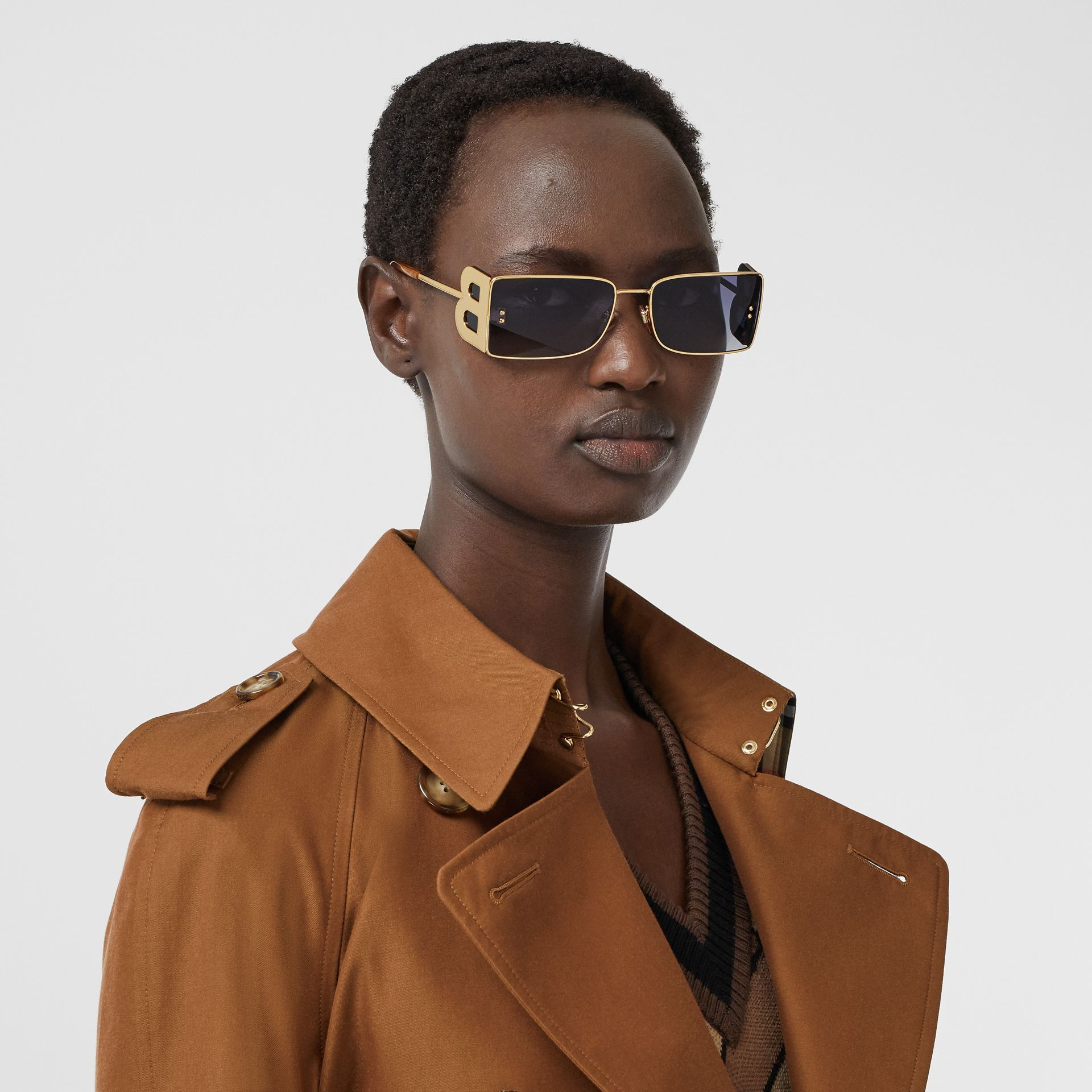 The Waterloo Trench Coat in Chestnut Brown - Women | Burberry - gallery image 11