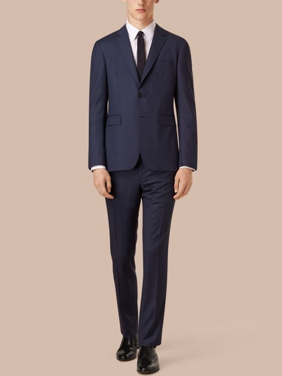 Slim Fit Wool Travel Tailoring Suit