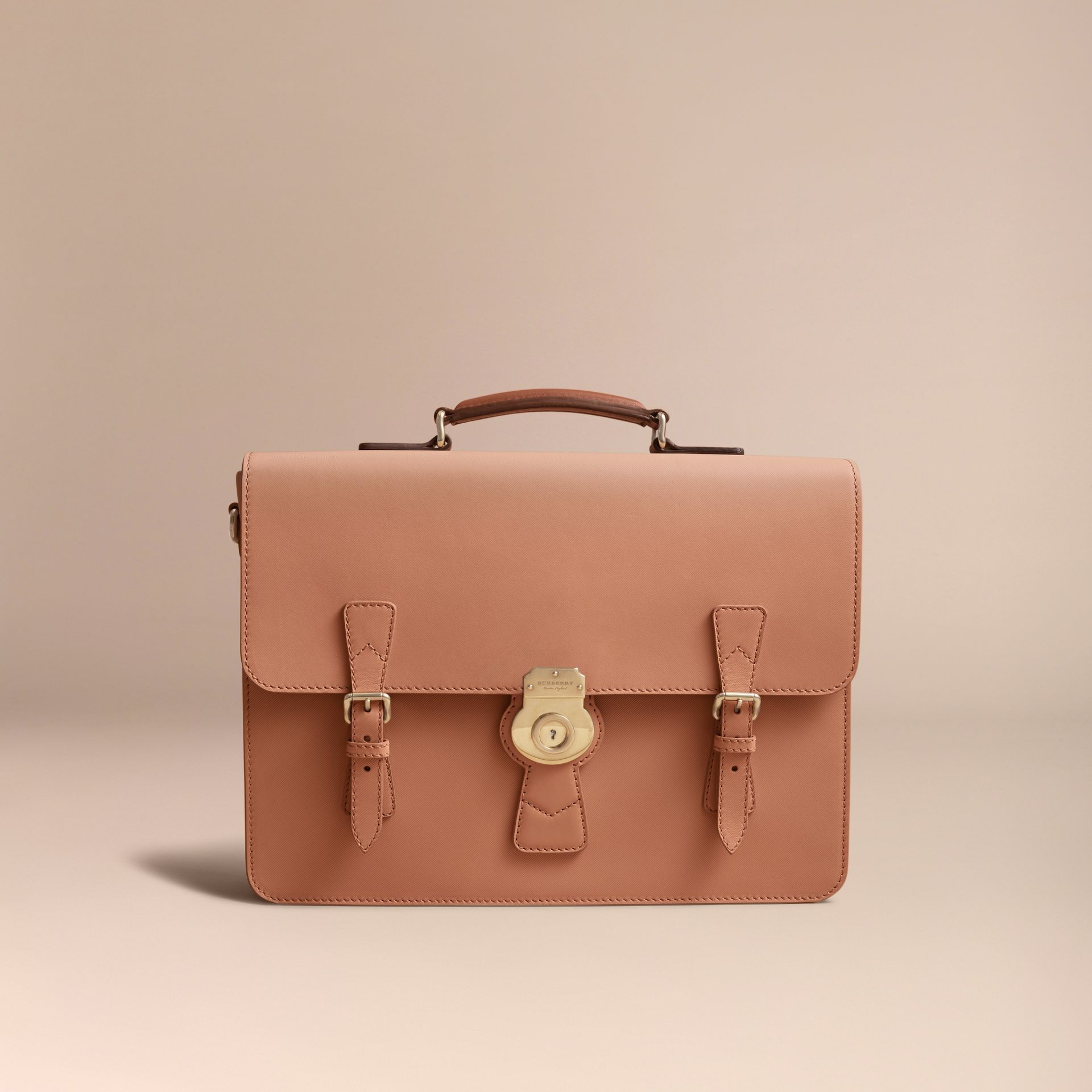 The Medium DK88 Satchel in Pale Clementine - Men | Burberry United States - gallery image 6