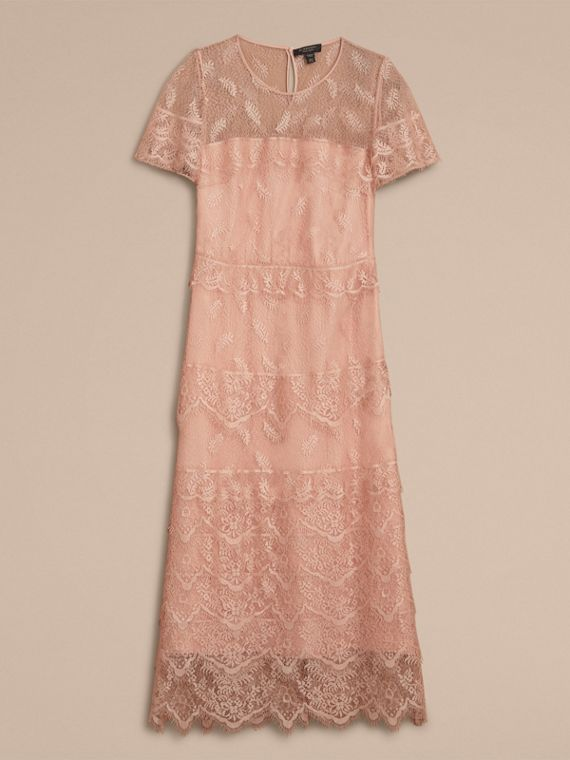 Tiered Lace Shift Dress - cell image 3