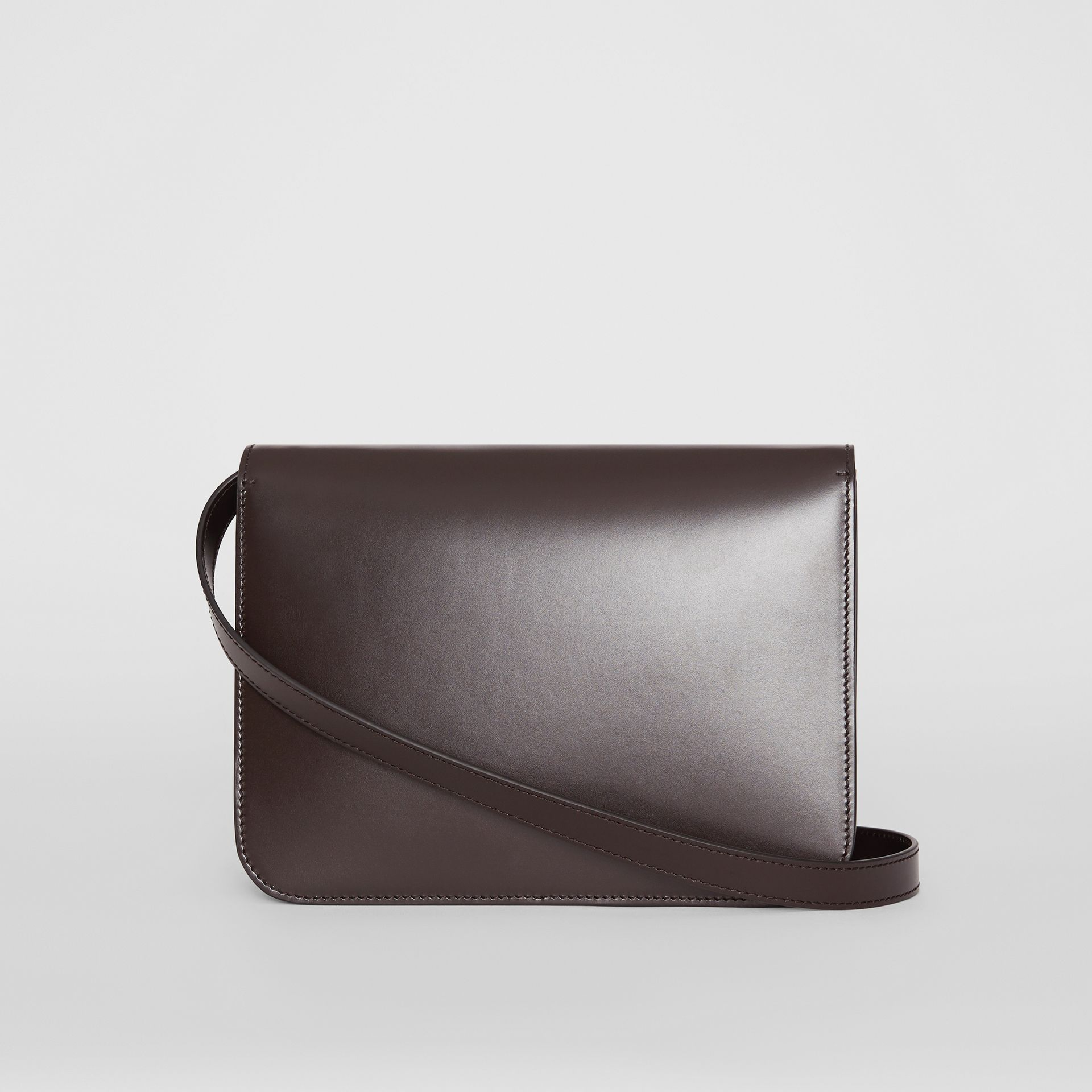 Medium Leather TB Bag in Coffee - Women | Burberry - gallery image 7