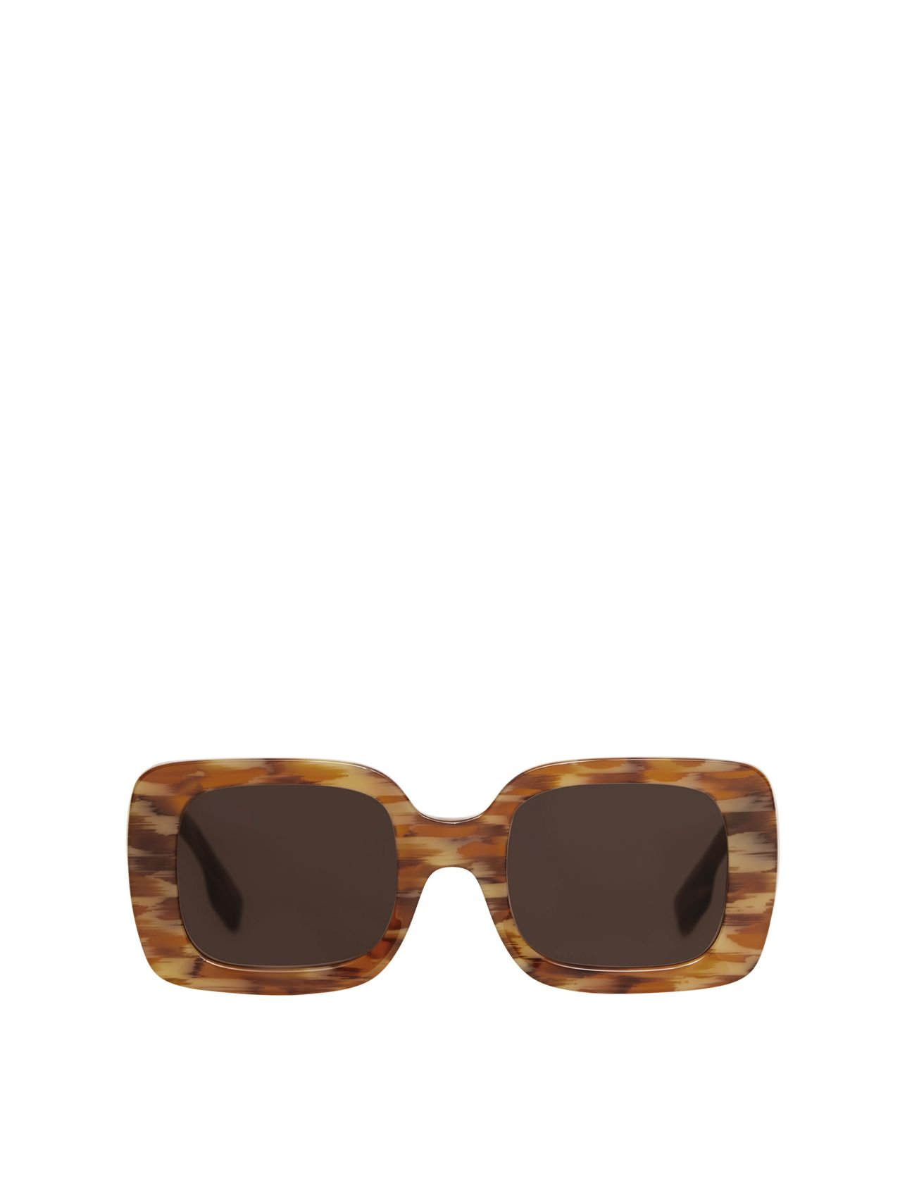 Monogram Motif Square Frame Sunglasses in Deer Print
