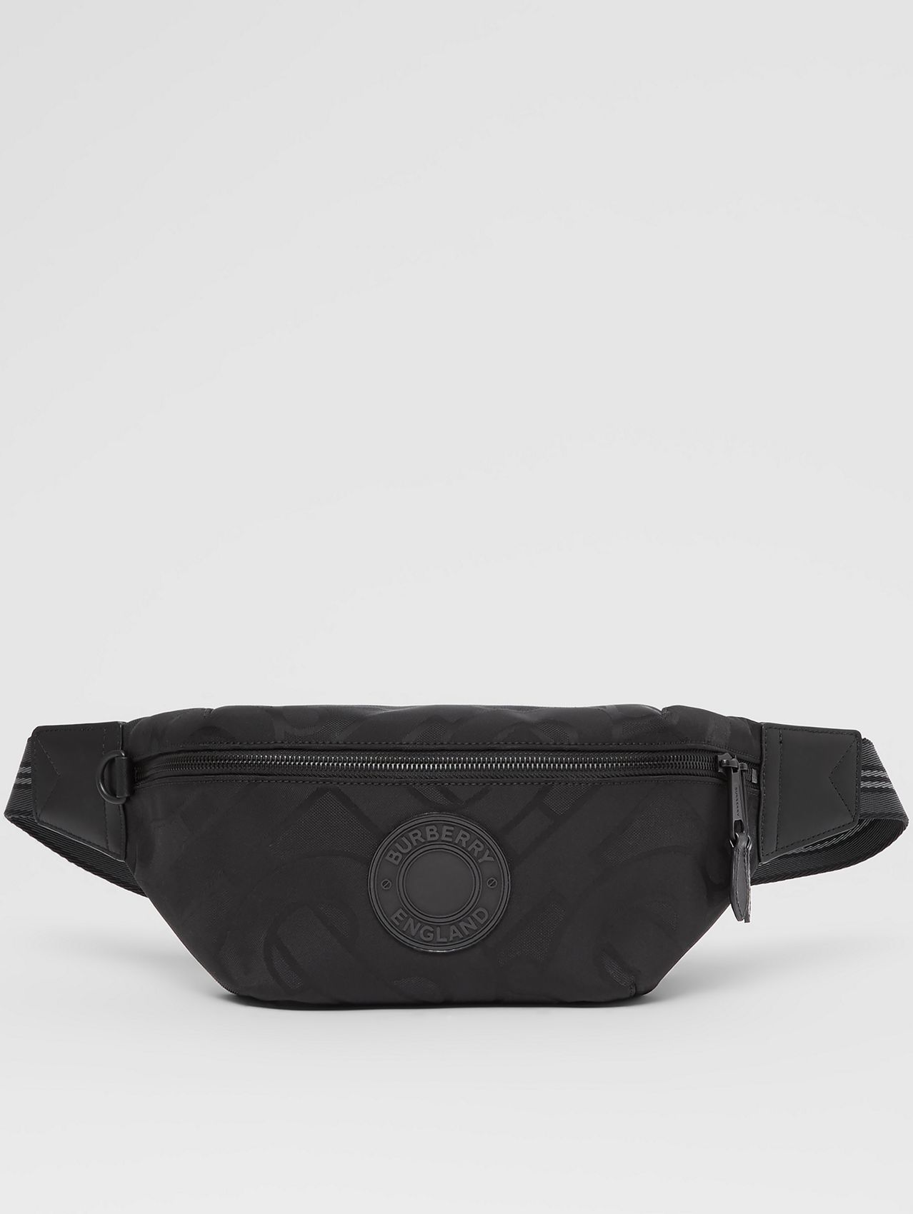 Monogram Recycled Polyester Sonny Bum Bag in Black