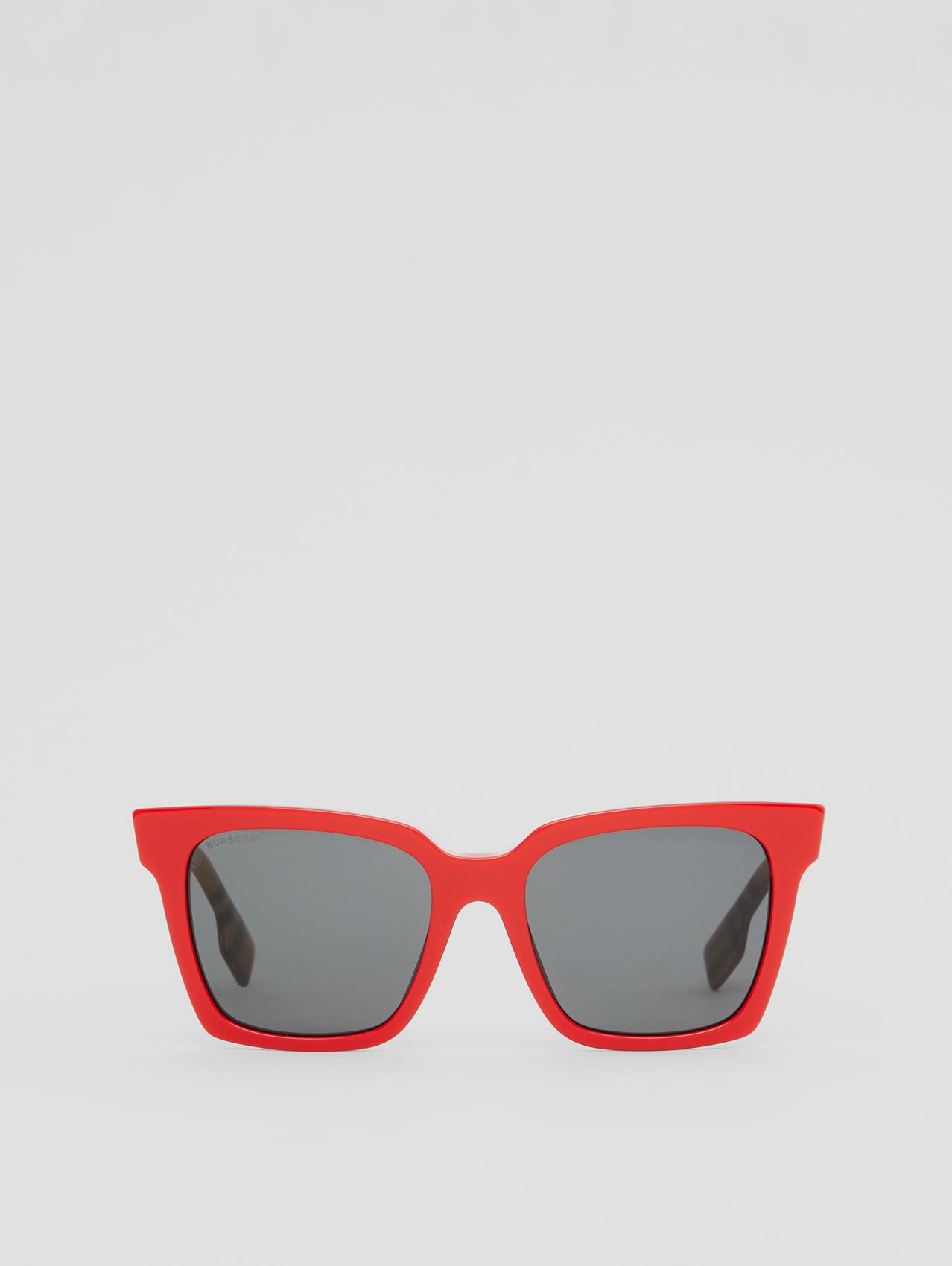 Square Frame Sunglasses in Red