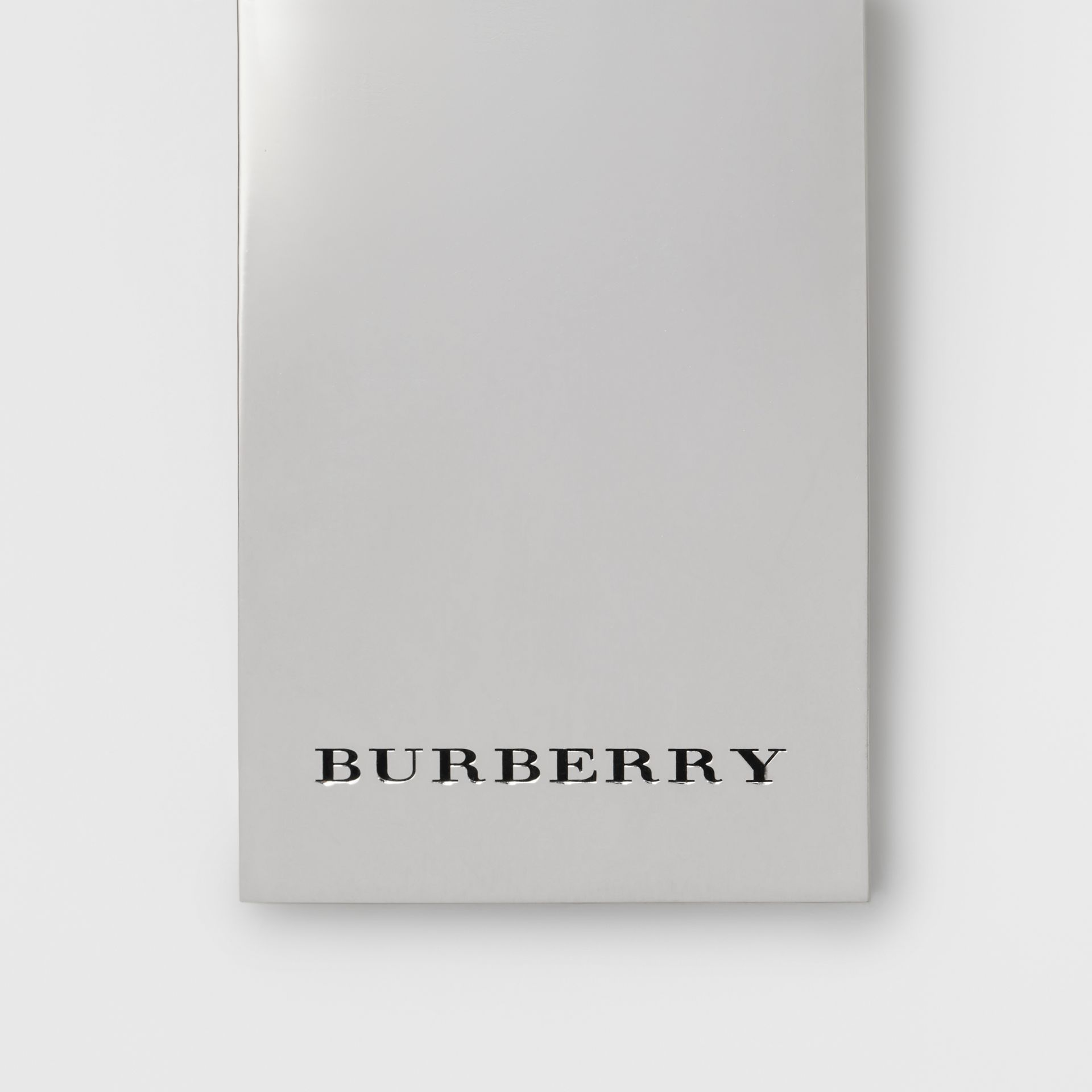Brass Money Clip in Silver - Men | Burberry United States - gallery image 1