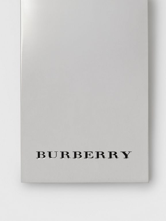 Brass Money Clip in Silver - Men | Burberry United Kingdom - cell image 1