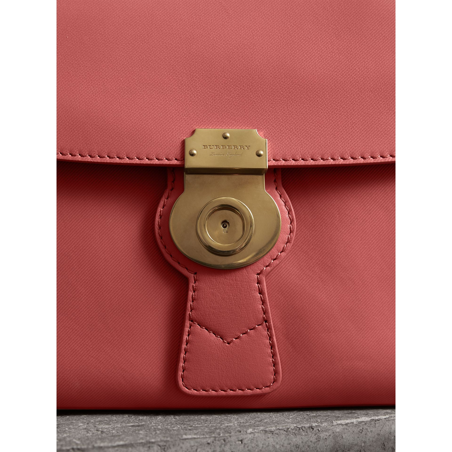 The Medium DK88 Top Handle Bag in Blossom Pink - Women | Burberry United Kingdom - gallery image 1